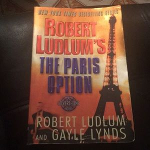 1st Edition Robert Ludlum's The Paris Option